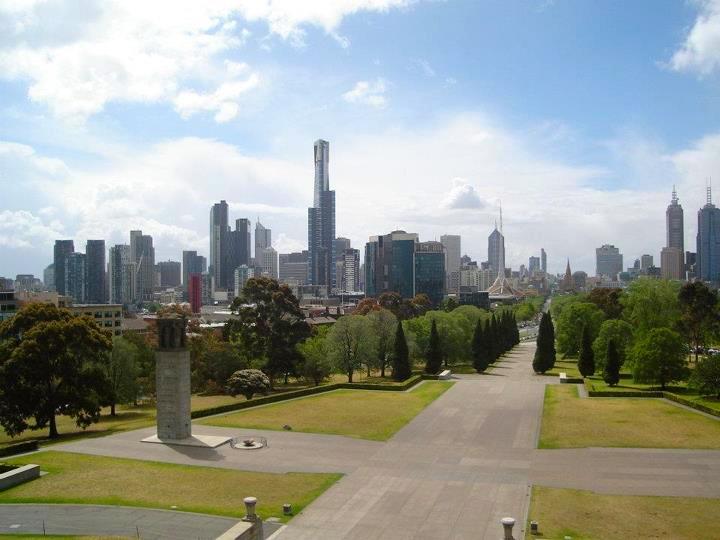 Minha linda Melbourne, eu tenho orgulho de você!